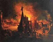 300px-J G Trautmann Das brennende Troja
