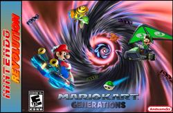 Mario Kart Generations logo actual