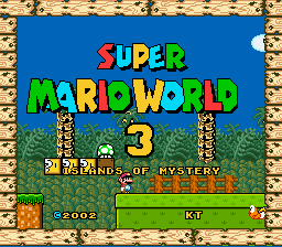 Super Mario World 3 - Islands of Mystery-1