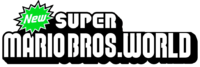 New Super Mario Bros World - Logo by Gablemice