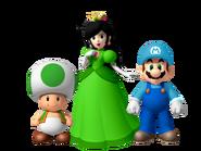 Toad, Shelline y Alessandro