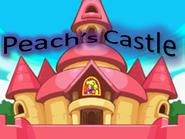 Peach's Castle Logo by Silver Martínez
