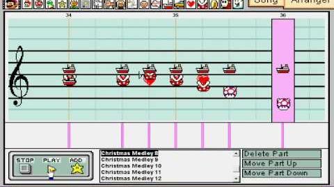 A Mario Paint Christmas