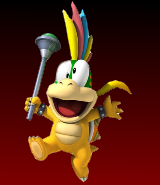 Lemmy Koopa New Super Smash Bros
