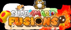 Super Mario Fusions Logo HD 4K MEGA