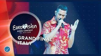 Italy - LIVE - Mahmood - Soldi - Grand Final - Eurovision 2019-3