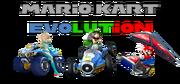 Mario Kart Evolution Logo By Silver Martínez