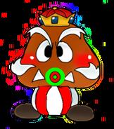 Bebe rey goomba