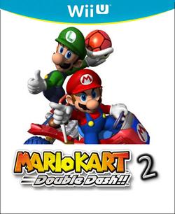 Mario Kart Double Dash!! 2 Logo by Silver Martínez.jpg