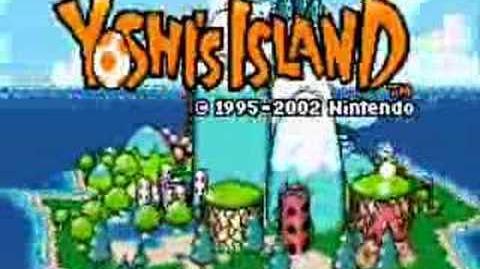Yoshi island theme(title)