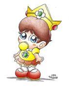 Baby Daisy draw