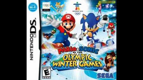 Mario and Sonic at the Olympic Winter Games DS (Rival Encounter)
