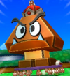 Papercraft Megacrinkle Goomba