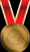 Memedalla de bronce