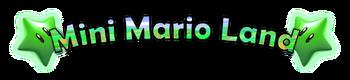 Mini Mario Land Logo