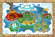Reino-champinon-mushroom-kingdom-mario-nintendo