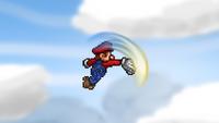 Mario Forward Aerial 2