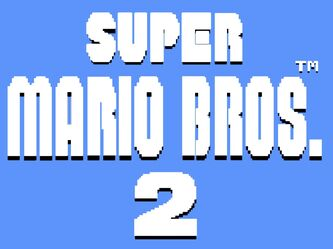 Logo Super Mario Bros. 2