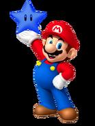 Mario con una Estrella Gravitatoria (by Lemon)
