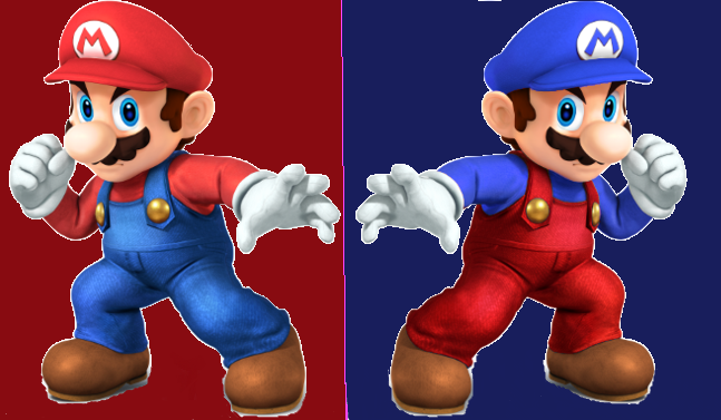 Mario ssb4 recolors by shadowgarion-d6iwp6w