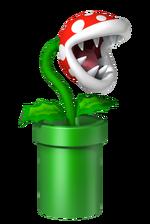 Planta Piraña Mario Party DS