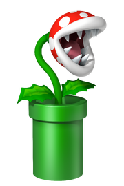 Planta Piraña Mario Party DS