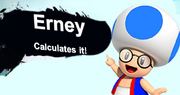 Erney calculates it!
