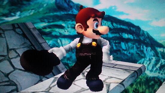 Mario Galáctico sin gorra