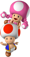 254px-Toad and Toadette - Mario Party 7