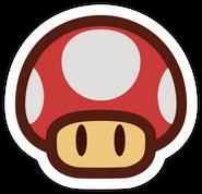 Champiñon en Paper Mario 3DS