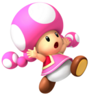 Toadette wheel