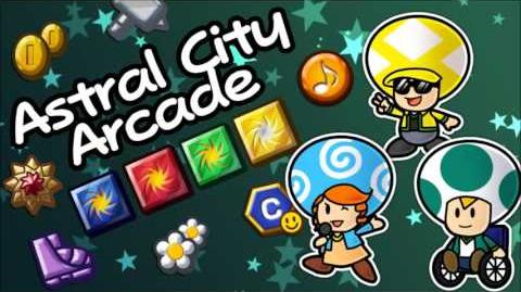 Astral City Arcade - Music - Paper Mario The Rewind Chronicles