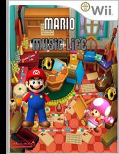 Carátula Wii Mario Music Life By DarkUser