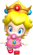 Baby peach in ssbb by real princess peach-d6ufmer