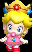 Baby peach in ssbb by real princess peach-d6ufmer
