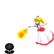 Peach de Fuego vs Flor Malvada