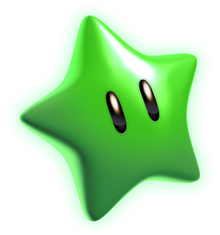Estrella verde SM3DW