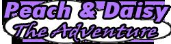Peach Daisy Adventure Logo