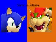 Sonic vs Juliana