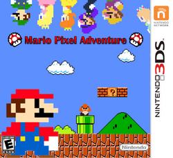 Mario Pixel Adventure Carátula