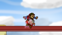 Mario Down Throw 2