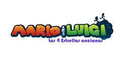 Mario&Luigi Las 4 estrellas ancianas logo
