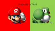 Andresito vs Yoshi