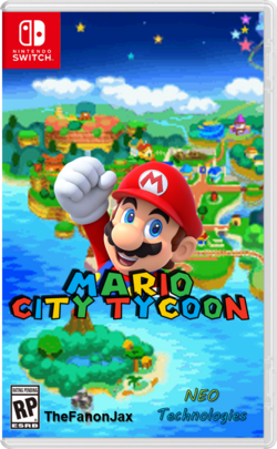 Mario City Tycoon Switch
