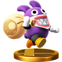 Trofeo Caco Gazapo SSB4 (Wii U)