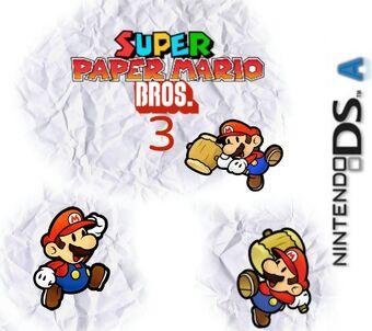 Super Paper Mario Bros 3 Mario Fanon Wiki Fandom