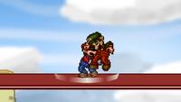 Mario Back Throw 1