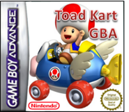 Toad Kart GBA caratula by Silver