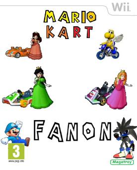 Mario kart fanon caratula
