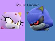 Myu vs FanSonic